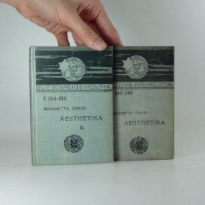 náhled knihy - Aesthetika vědou výrazu a všeobecnou linguistikou, (2 svazky)