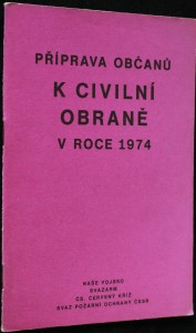 náhled knihy - Příprava občanů k civilní obraně v roce 1974 : Učební text pro cvičitele