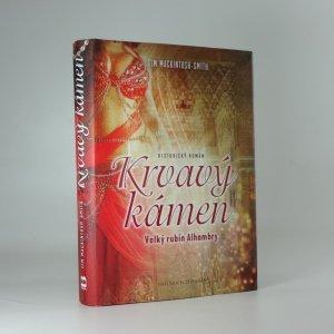 náhled knihy - Krvavý kámen: Velký rubín Alhambry