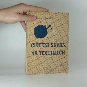 náhled knihy - Čištění skvrn na textiliích