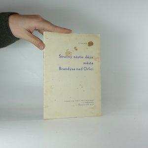 náhled knihy - Stručný nástin dějin města Brandýsa nad Orlicí
