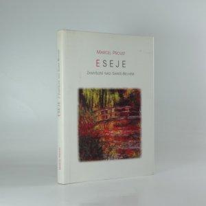 náhled knihy - Eseje : zamyšlení nad Sainte-Beuvem
