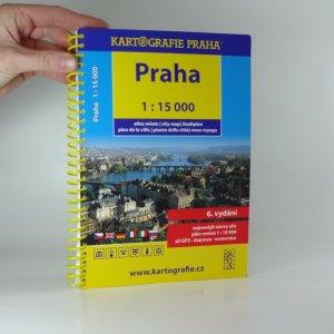 náhled knihy - Praha atlas města 1:15 000