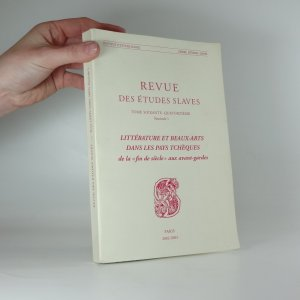 náhled knihy - Revue des Études Slaves