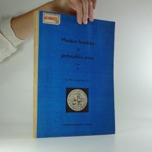 náhled knihy - Moderní brazilská a portugalská próza: Texty III.