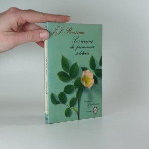 náhled knihy - Les rêveries du promeneur solitaire
