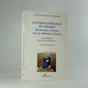 náhled knihy - Les bibliothèques du désert