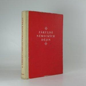 náhled knihy - Zákulisí německých dějin