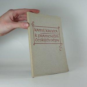 náhled knihy - K pramenům českých dějin