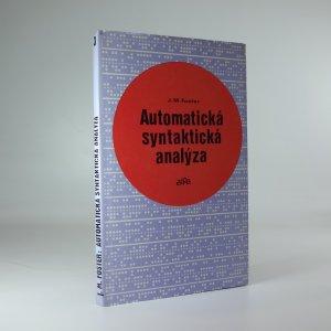 náhled knihy - Automatická syntaktická analýza