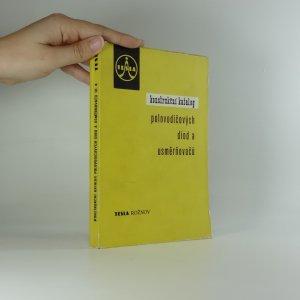 náhled knihy - Konstrukční katalog elektronek Tesla. Svazek III.A.