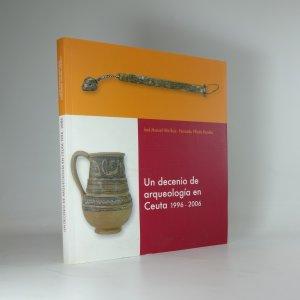 náhled knihy - Un decenio de arqueología en Ceuta 1996-2006
