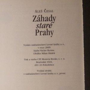 antikvární kniha Záhady staré Prahy, 2009