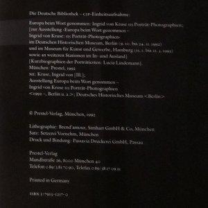 antikvární kniha Europa beim Wort genommen, 1993