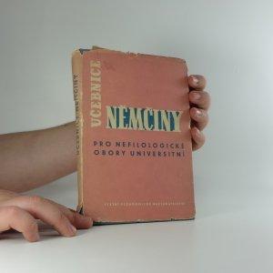 náhled knihy - Učebnice němčiny pro nefilologické obory universitní : Vysokošk. učebnice