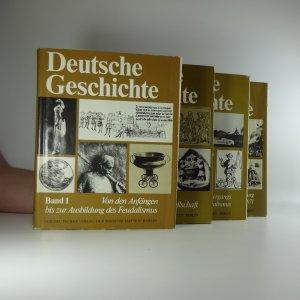 náhled knihy - Deutsche Geschichte (Svazek I-IV)