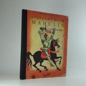 náhled knihy - Statečný rytíř Mahulín