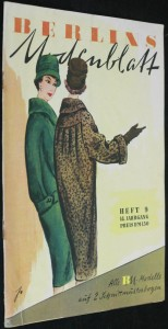 náhled knihy - Berlins Modenblatt, heft 9, 14. jahrgang preis dm 1.50