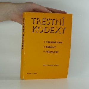 náhled knihy - Trestní kodexy (trestné činy, přečiny, přestupky) - Text s judikaturou