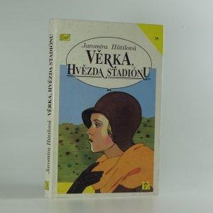 náhled knihy - Věrka, hvězda stadiónu