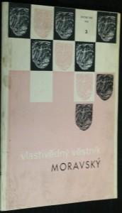 náhled knihy - Vlastivědný věstník moravský