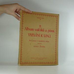 náhled knihy - Album valčíků a písní. Vyzvání k tanci.