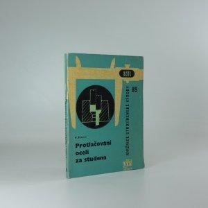 náhled knihy - Protlačování oceli za studena