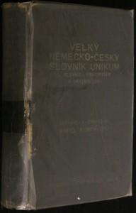 náhled knihy - Velký německo - český slovník unikum
