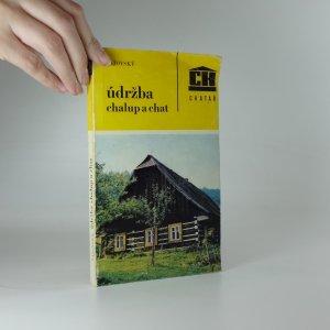náhled knihy - Údržba chalup a chat