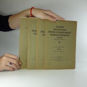 náhled knihy - Časopis společnosti přátel starožitností Československých v Praze (č. 1.,2.,3.-4. + přehledová příloha) ročník XXXX.