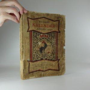 náhled knihy - Rodinný kalendář Nového Lidu na rok 1926. Čítanka pro náš lid. Ročník XIV.