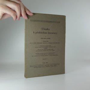 náhled knihy - Ukázky k přehledům literatury - učební text pro I. ročník obchodních akademií a veřejných obchodních škol