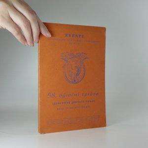 náhled knihy - 58. výroční zpráva