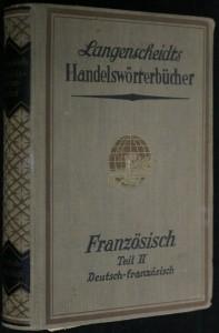 náhled knihy - Langenscheidts Handelswörterbücher - Französisch teil II Deutsch - französisch