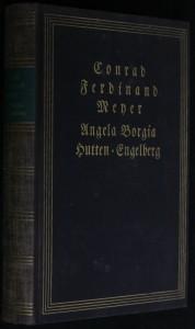 náhled knihy -  Angela Borgia. Novelle