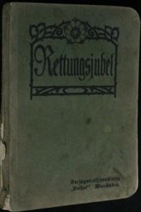 náhled knihy - Rettungsjubel. Zum Gebrauch in Evangelisations- und Glaubens Versammlungen