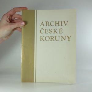 náhled knihy - Archiv České koruny