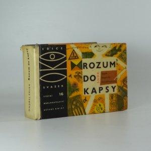 náhled knihy - Rozum do kapsy : malá kapesní encyklopedie