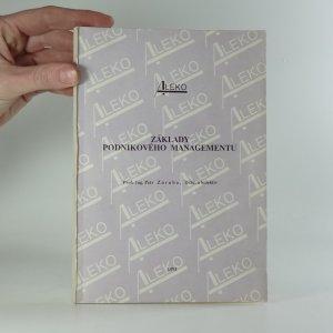 náhled knihy - Základy podnikového managementu