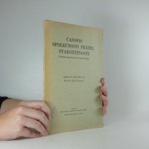 náhled knihy - Časopis společnosti přátel starožitností. Ročník LVI. číslo 3. - 4.