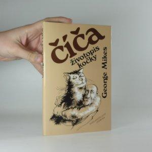náhled knihy - Číča, životopis kočky.