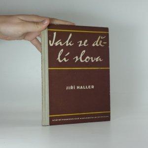 náhled knihy - Jak se dělí slova