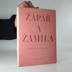 náhled knihy - Žapar a Žamila