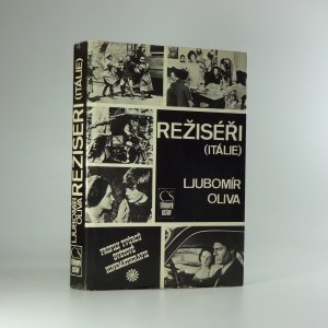 náhled knihy - Režiséři - Itálie: medailóny, filmografie, bibliografie