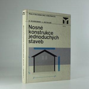 náhled knihy - Nosné konstrukce jednoduchých staveb