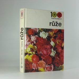 náhled knihy - 100 nejkrásnějších - růže