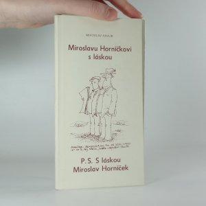náhled knihy - Miroslavu Horníčkovi s láskou