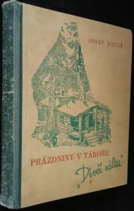 náhled knihy - Prázdniny v táboře \