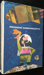 náhled knihy - Prodavač dobrodružství