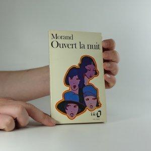 náhled knihy - Ouvert la nuit